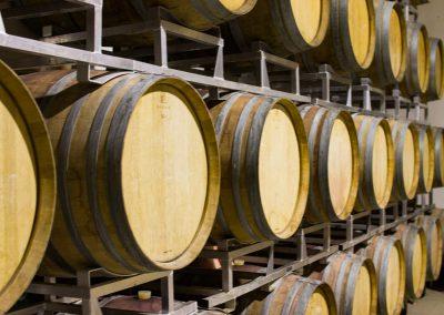 Während des gesamten Herstellungsprozesses überwachte Weine