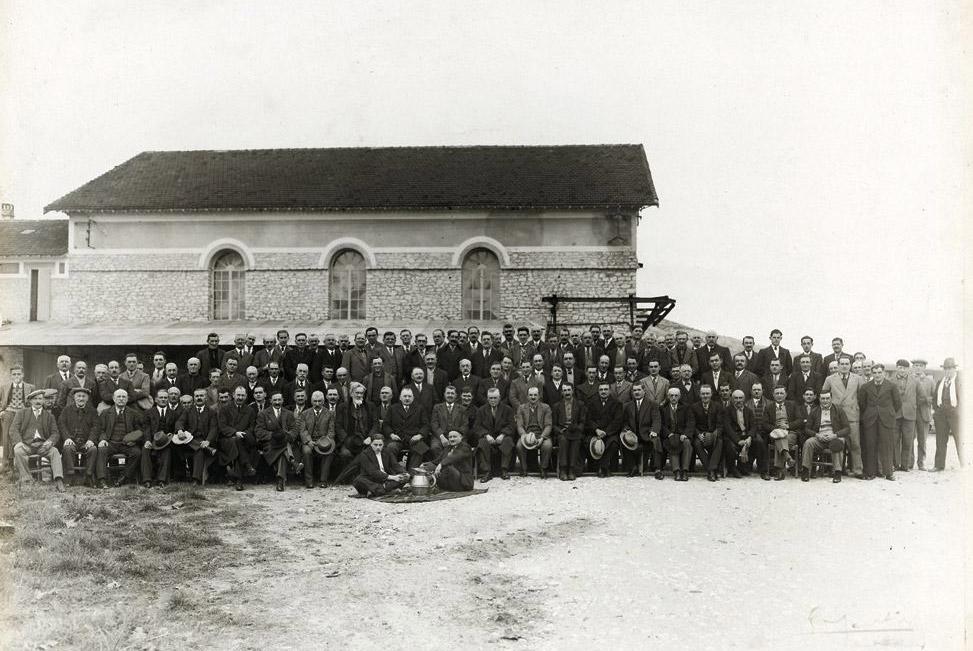 Die Gründungsmitglieder der Kellerei