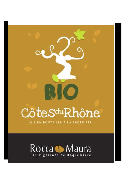 Vin Bio rouge - Côtes-du-Rhône