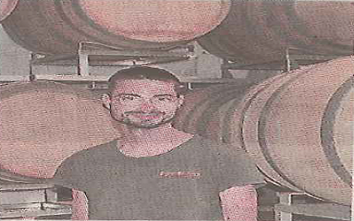 Valentin Royer, nouveau maître de chai de ROCCA MAURA