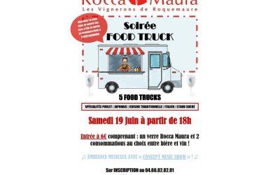 Soirée Food Truck le 19/06/2021 !