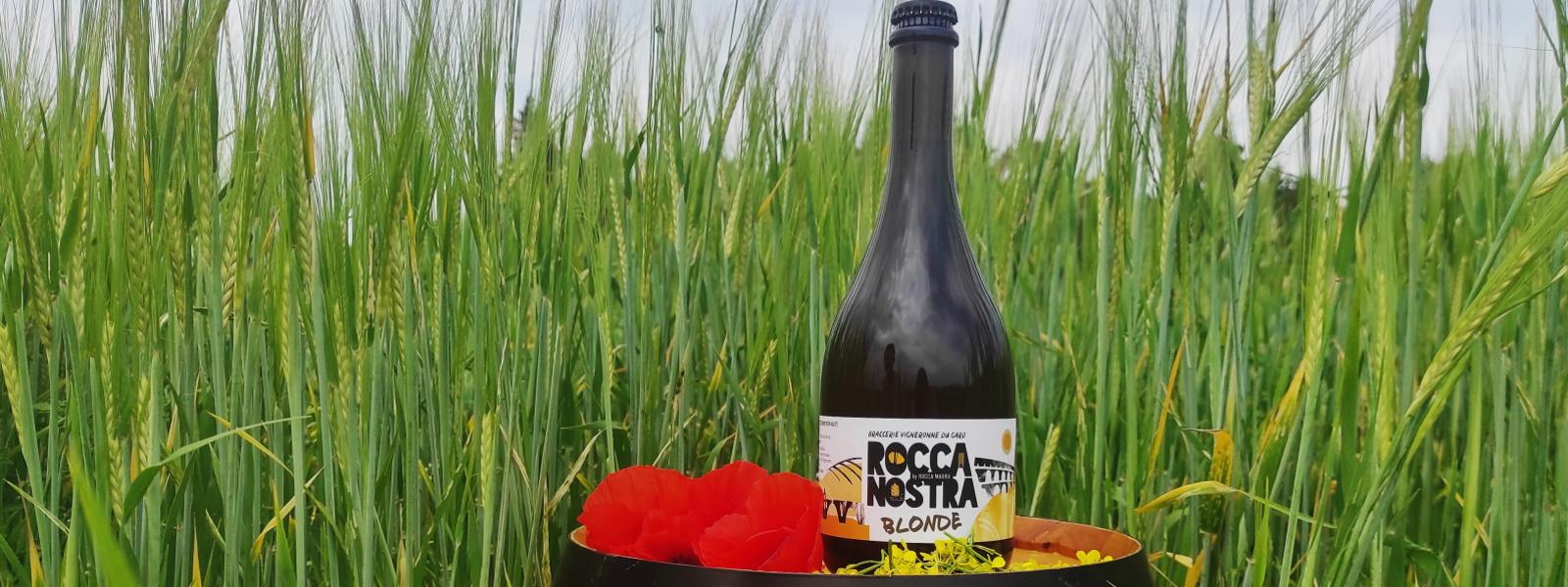 Bière blonde Rocca Nostra 75cL