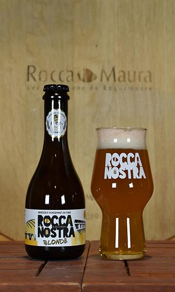 Bière blonde Rocca Nostra 33cL