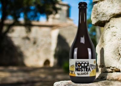 Notre bière Rocca Nostra blonde