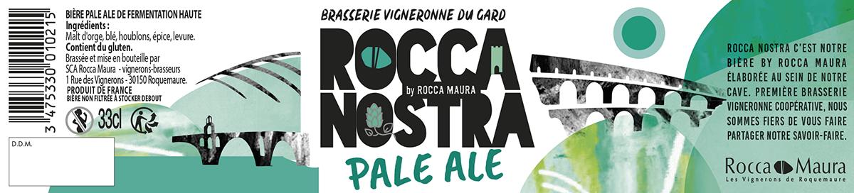 Etiquette de la bière Pale Ale 33cL