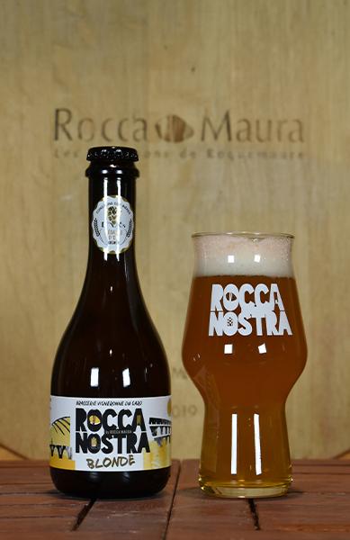 Bière blonde Rocca Nostra 75 cL